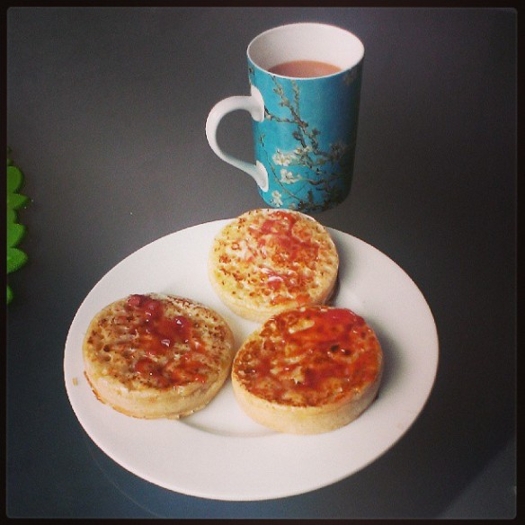 Week 21: Tea and Crumpets #project52